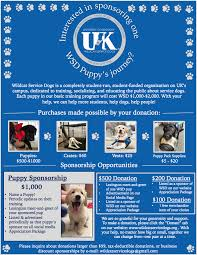 Sponsor A Puppy For The Blind Wildcat Service Dogs About Us