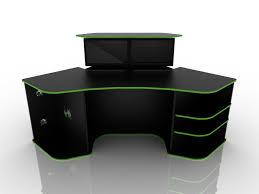 Awesome Gaming Desk Best Gaming Desk Within Best Gaming Computer Desk Modern Home Design