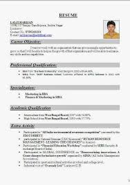 the 25 best resume format for freshers ideas on pinterest