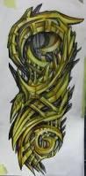45 awesome biomechanical tattoos häftigt tatueringsdesigner och