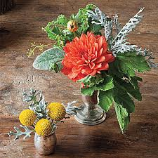 tips for flower arrangements for your thanksgiving table