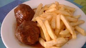 recette de cuisine belge boulets à la liégeoise frites belges recette par cuisine en folie