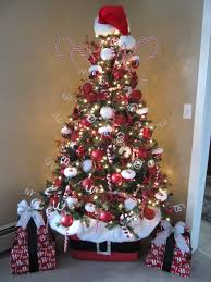 interior design simple themes for christmas tree decorating home