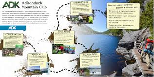 Adirondack Mountains Map Adk Niagara Frontier Chapter Adirondack Mountain Club