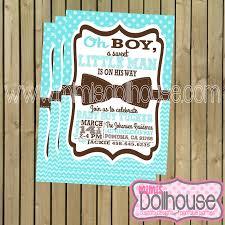 bow tie baby shower invitations bowtie baby shower invitation mimi s dollhouse