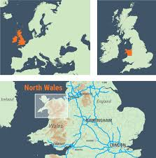 York England Map North Wales U2013 Fotovue
