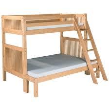 Futon Bunk Bed Wood Plain Futon Bunk Bed Wood Wooden Beds To Design Decorating