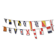 nautical flag nautical flag bunting 12 6m peeks