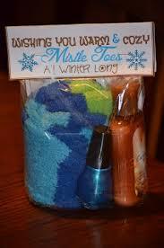 touchet soiree teacher christmas gifts fuzzy socks nail polish