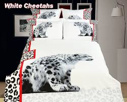 Black And White Queen Bed Set Animal Theme Bedding Luxury Duvet Cover Set By Dolce Mela Dm431q