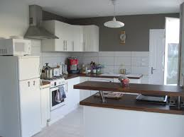 quelle peinture pour une cuisine peinture pour cuisine couleur taupe idée de modèle de cuisine