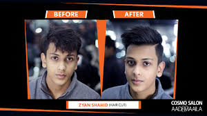 haircut deals lahore zyan shahid at cosmo lahore grooming and hair salon for men