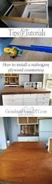 wood working diy mahogany kitchen counter tops out of plywood how to install a mahogany plywood counter tops do it yourself with plywood poly acyrlic