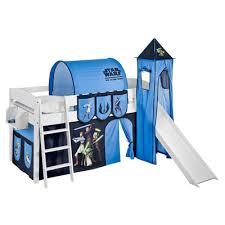 Wrigglebox Ida Star Wars The Clone Wars Mid Sleeper Bunk Bed With - Star wars bunk bed