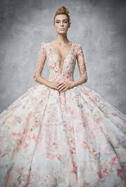 floral wedding dresses 22 gorgeous floral wedding dresses blooming with new details