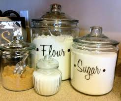 kitchen glass canisters glass canisters for kitchen trendyexaminer
