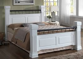 Wooden White Bed Frames Amazing King Size Wood Bed Frame Plans Andreas Within White Wooden