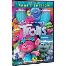 Walmart Halloween Makeup by Trolls Blu Ray Dvd Walmart Exclusive Walmart Com