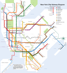 Mta Subway Map Nyc by L Subway Map Nyc My Blog