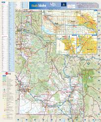 map of idaho cities large detailed roads and highways map of idaho state with national