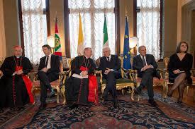 sede presidente della repubblica italiana mattarella a palazzo borromeo per la ricorrenza dei patti
