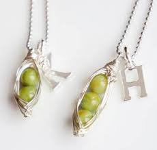 peas in a pod charm chic sweet peas in a pod necklace 20 shipped