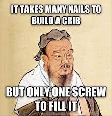 Confucius Says Meme - confucius say