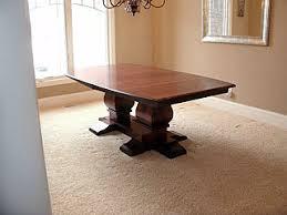 dining room trestle table u2013 amish custom furniture
