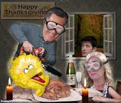 romney big bird for thanksgiving pictures