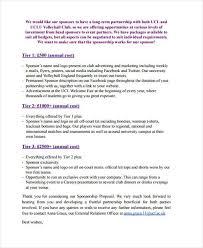 proposal for sponsorship template hitecauto us