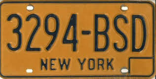 Nys Vanity Plates Potpourri The Andrew Turnbull License Plate Gallery