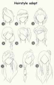 best 25 anime hair ideas on pinterest drawing hair drawing