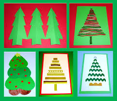geometric shape craft trees search crafts