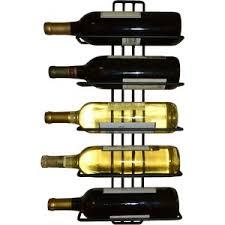 modern black wine racks allmodern
