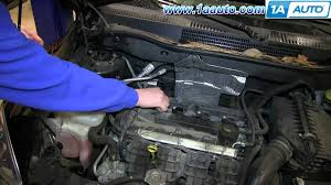 how to install replace engine spark plugs 2007 12 dodge caliber