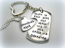 grandmother and granddaughter necklaces personalized handsted granddaughter keychain necklace