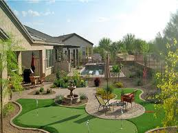 Backyard Putting Green Designs by Artificial Grass Phoenix Putting Greens Phoenix Lawns