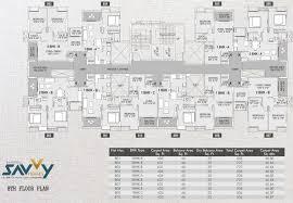 savvy homes floor plans saarrthi savvy homes in hinjewadi pune price location map
