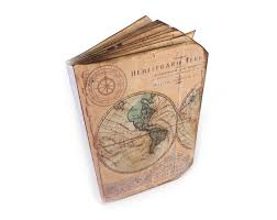 Old World Map Travel Journal Old World Map Scrapbook Wanderlust Vacation