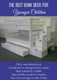 Bunk Beds With Stairs And Storage Gray Bunk Beds With Stairs Storage Drawers And Bed Storage