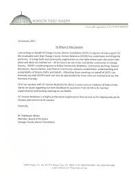 Donation Letter Sample For Non Profit Organization Letters From Our Supporters Oc Human Relations