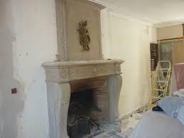 decoration en platre photo décoration cheminée platre