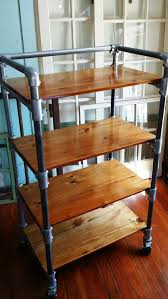 Bakers Rack With Wheels Best 25 Rolling Shelves Ideas On Pinterest Pull Out Shelves