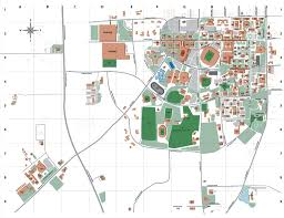Oregon State University Campus Map by Auburn Campus Map My Blog