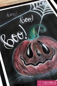 Free Halloween Printable by Craftaholics Anonymous Free Halloween Chalk Art Print
