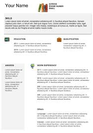 Examples Of Free Resumes by Free Resume Templates To Download Examples Of Resumes