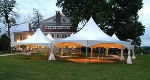 outdoor tent rental floor and party tent rental services in ohio