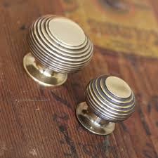 oak kitchen cupboard door knobs brass beehive cabinet knob
