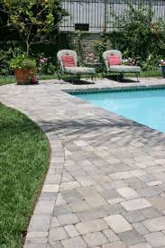 Backyard Landscaping With Pool by Best 25 Pool Pavers Ideas On Pinterest Pool Ideas Layout