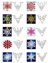 paper snowflake template